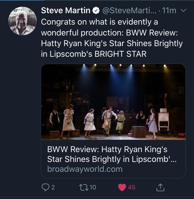 Steve Martin Tweet